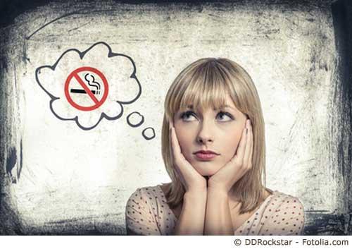 Nie wieder eine Zigarette?